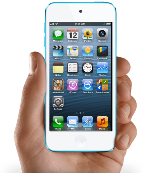 iphone5 hand png
